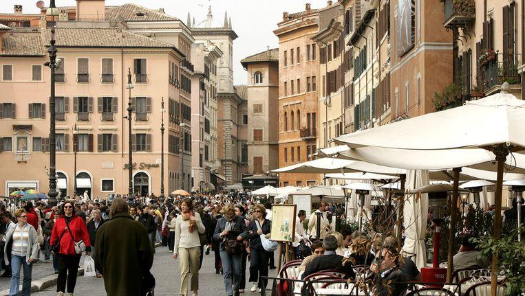 Italiaans terras Beeld anp
