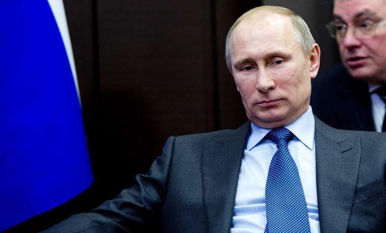 Russische President Vladimir Poetin. Beeld ANP
