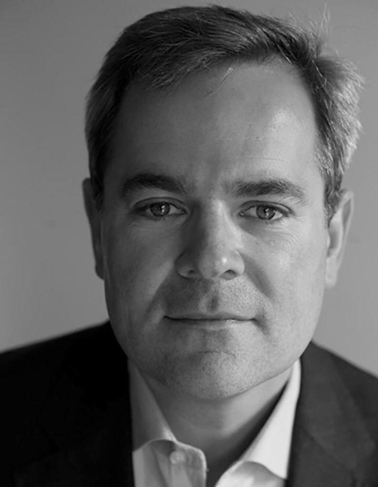 Amerikanist en auteur Koen Petersen. Beeld .