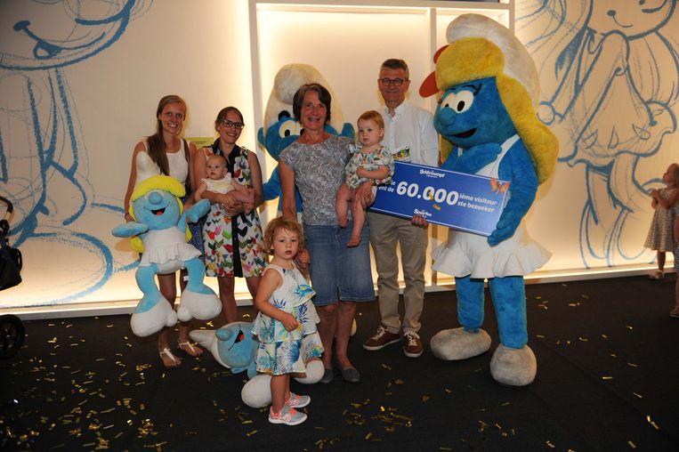 Smurfenavontuur in Brussels Expo