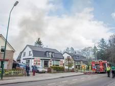 Schuur naast woning Driebergen uitgebrand