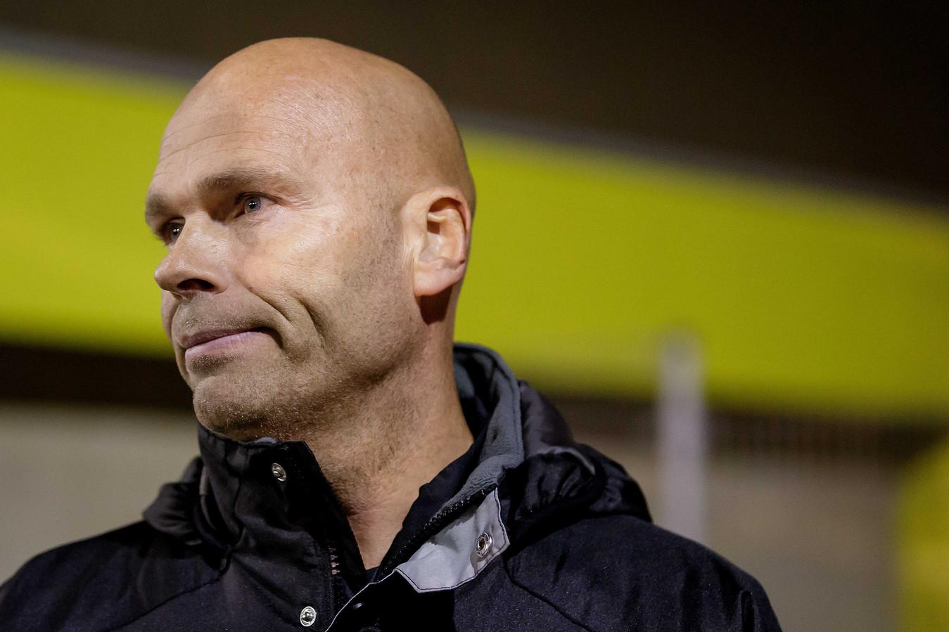FC Lisse-coach Robbert de Ruiter.