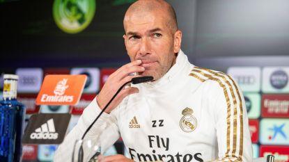 """Zidane reageert op enkelbreuk Hazard: """"Zeer slecht nieuws, Eden had net een uitstekende vorm te pakken"""""""