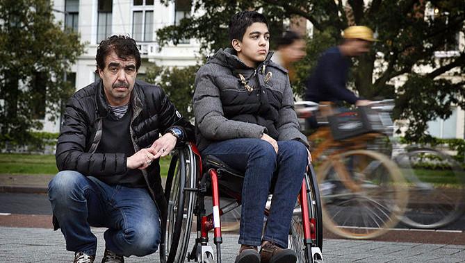 Hamza en zijn vader