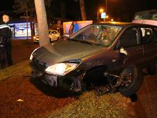Auto's botsen in Utrechtse wijk Overvecht