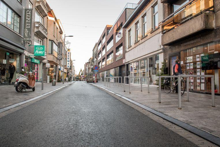Filip Blomme en zijn echtgenote runden in de Marktstraat in Izegem (foto) vele jaren lang warenhuis Miblo.