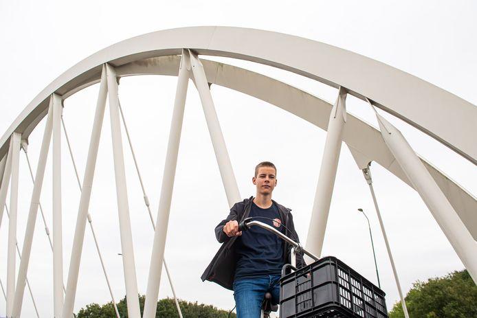 Zeb Lodewikus: ,,Als ik over de Witte Brug fiets, kan ik mooi over Terheijden kijken.''