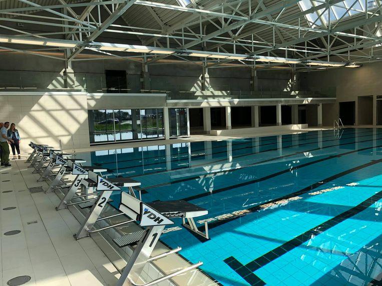 Zo ziet het zwembad eruit