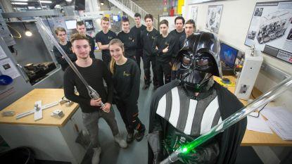 Studenten maken replica van lichtzwaard uit Star Wars