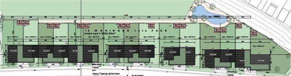 De plannen van de cvba Wonen aan de Tweede Gidsenlaan.