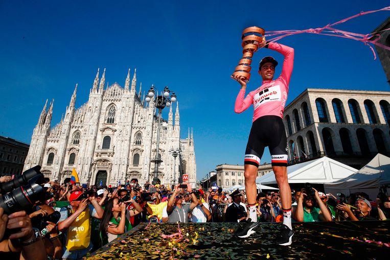 Tom Dumoulin wint de 100ste Giro