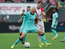 Holmén baalt van gebrek aan stootkracht, maar looft debutant Van der Avert