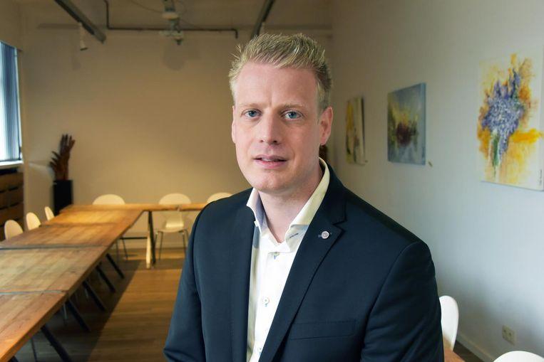 Bram Gers van 'Cuisine Catering' is een van de vele nieuwe ondernemers in de Kempen.
