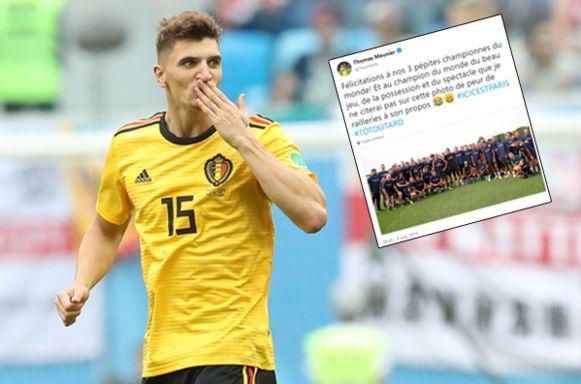 Thomas Meunier maakte indruk tijdens het WK.