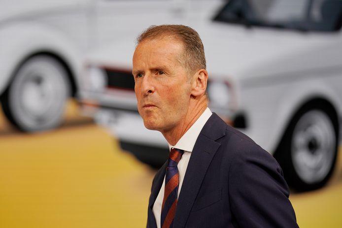 CEO Herbert Diess van de Volkswagen Groep: ,,Buiten China verkopen we praktisch geen auto meer.''