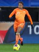 Lineth Beerensteyn speelde als rechtsback.