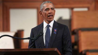 Amerikaanse ex-presidenten prijzen overleden mensenrechtenactivist en parlementslid John Lewis, Trump afwezig