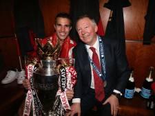 'Als we geen kampioen worden, komt het door die klootzakken daar, zei Ferguson'