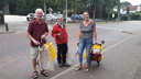 V.l.n.r. Wim Zwikker, Jan Daamen en Peggy Blaauw van GoClean.