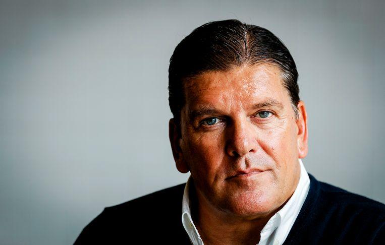 Oud-tv-presentator Frank Masmeijer is veroordeeld wegens drugssmokkel. Beeld ANP Kippa