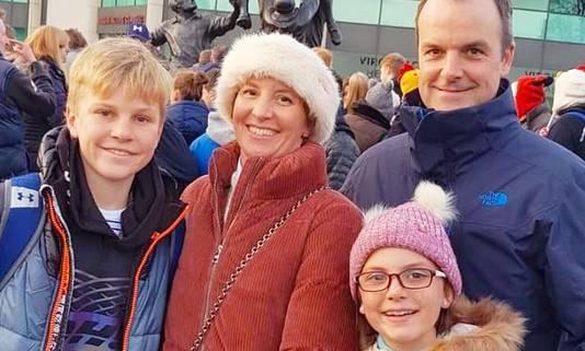 Anita Nicholson en haar zoon Alex kwamen bij de bomaanslag om het leven.
