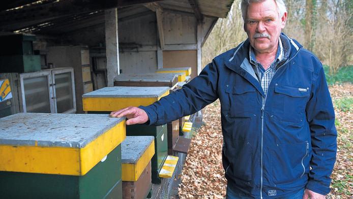 Jan Bos: 'Abnormaal dat mensen zoiets doen. En het gaat al zo slecht met de bijen.'
