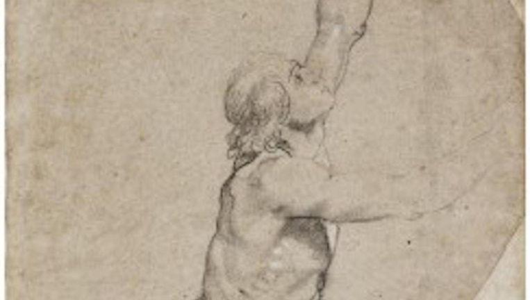 Sotheby's schatte de opbrengst van de Rubens van te voren op circa 3 miljoen dollar. Beeld Sotheby's