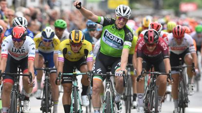 Bennett pakt twee op rij in BinckBank Tour na sprintzege in Ardooie