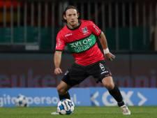 Geblesseerde Barreto groot vraagteken bij NEC voor derby tegen De Graafschap