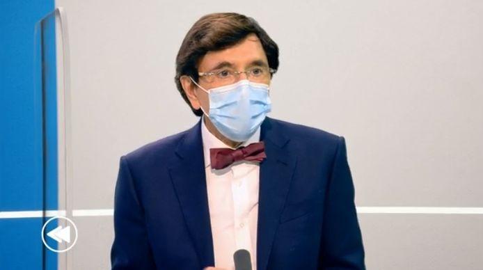 Elio Di Rupo, le ministre-président wallon