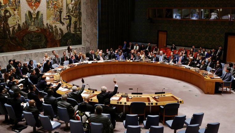 De Veiligheidsraad. Beeld null