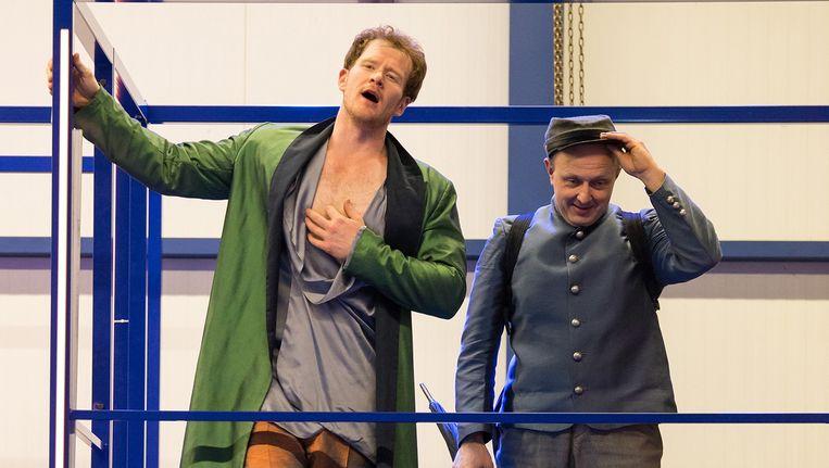 Scène uit Don Giovanni Beeld Wiebe Nieuwenhuis