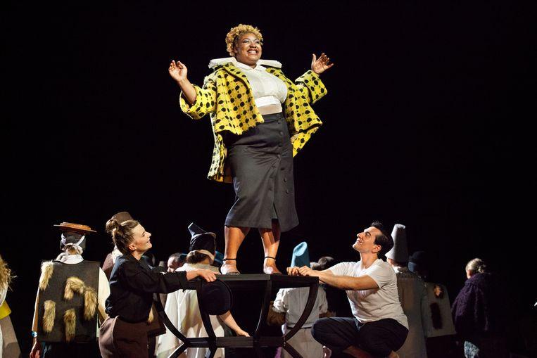 Prinses Eboli in Verdi's Don Carlos, in de regie van Johan Simons bij Opera Ballet Vlaanderen. Beeld Annemie Augustijns / Opera Ballet Vlaanderen