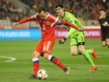België begint ondanks blunder Courtois met zege aan kwalificatie