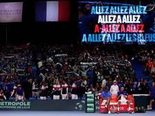 'Wals' Tsonga loodst Frankrijk weer naast België