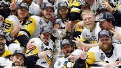 IJshockeykampioen Pittsburgh aanvaardt huldiging in Witte Huis