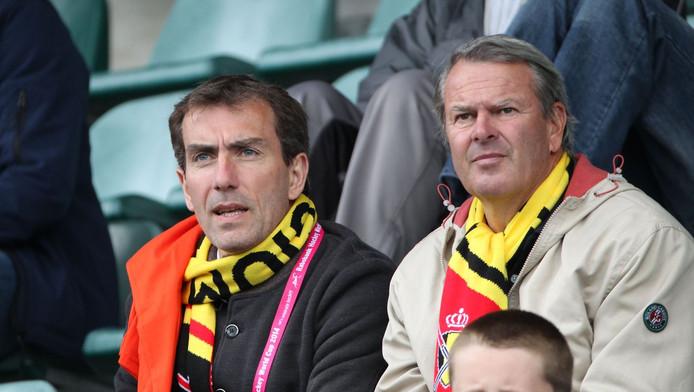 Marc Coudron (à gauche)