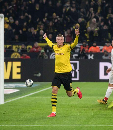 Noors fenomeen Haaland doet het als invaller weer bij Dortmund