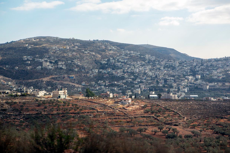 Route 60 van Nablus naar Jericho.