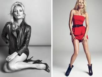 Kate Moss verleidt in herfstcollectie van Mango