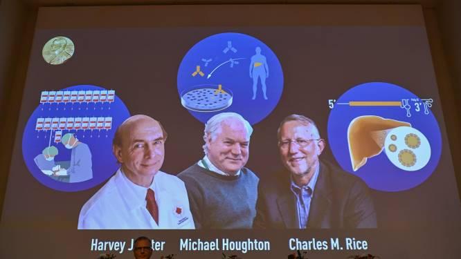 Ontdekkers hepatitis C-virus winnen Nobelprijs voor Geneeskunde