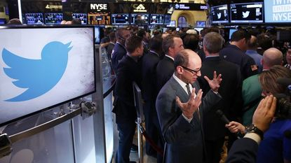 Koers Twitter spurt 73 % hoger bij beursdebuut