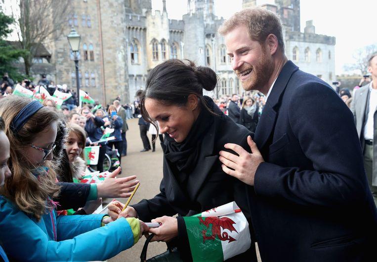 Harry met Meghan in Wales. Hij had niet verwacht dat William twijfels zou hebben over hun relatie.