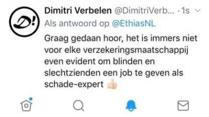 Hilarisch! Klantendienst Ethias te kijk gezet op Twitter