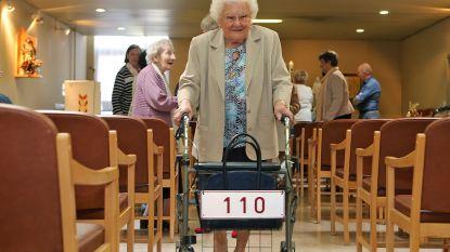 Derde oudste inwoner van het land Julia Van Hool viert vandaag 110de (!) verjaardag