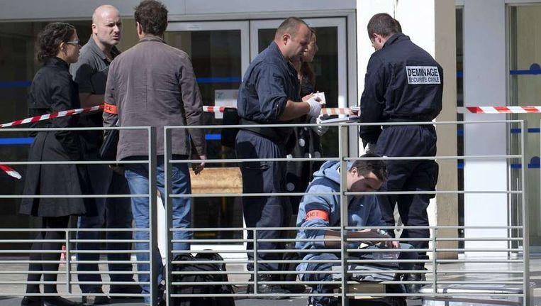 In september werd een aanslag gepleegd op een koosjere winkel in de Parijse voorstad Sarcelles. Beeld AFP