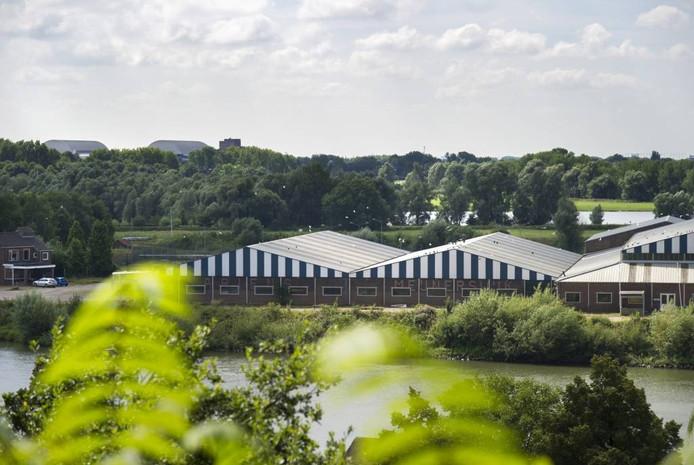 Het bedrijventerrein in Meinerswijk.