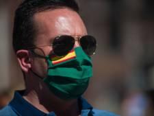 Le port du masque obligatoire dans les espaces publics en Espagne