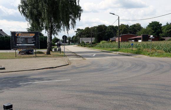 Het schietincident gebeurde in de Postelarenweg in Mol, een beetje voorbij bandencentrale Boons