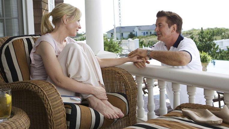 Cate Blanchett en Alec Baldwin in Blue Jasmine. Beeld